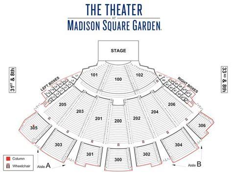 square garden map wamu theater square garden seating chart