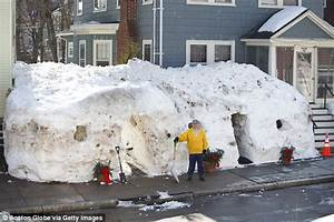 Boston family makes the most of the snow by building a