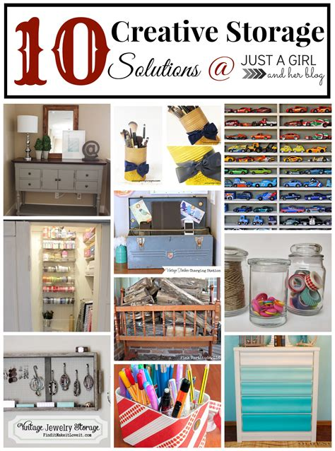 creative storage solutions 10 creative storage solutions just a girl and her blog