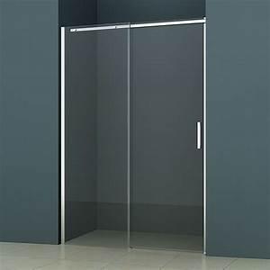porte de douche coulissante minima 120 a 140 cm With porte de douche coulissante avec promotion salle de bain