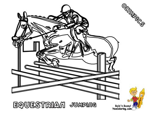 Olympics Coloring Pages Summer