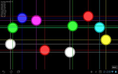Multi Dfgarer Test by Multi Touch Tester For Android Apk
