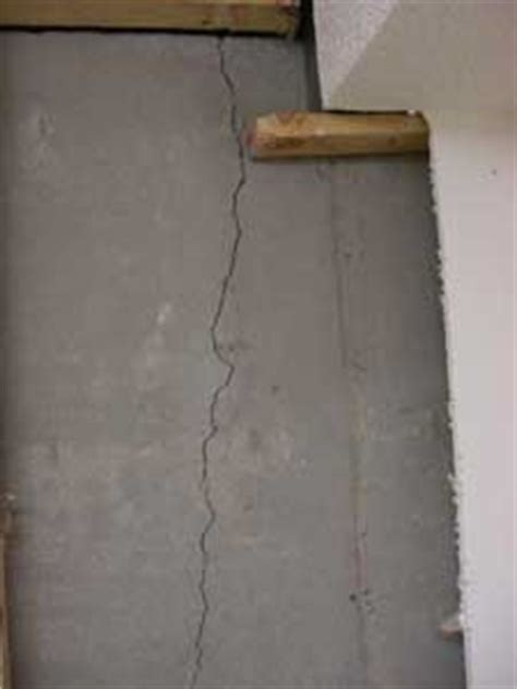 causes of water in basement cracks in foundation walls radonseal diy basement