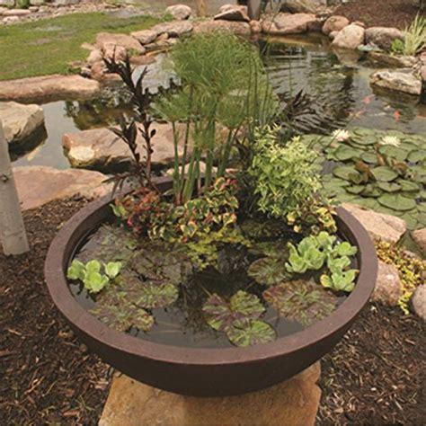 Aquascape Patio Pond by Aquascape 98858 Aquatic Patio Pond Water Garden 32 Inch