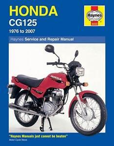 Honda Cg125  1976 To 2007  Haynes Manual - 0433