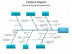 Fishbone Diagram Design Element