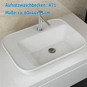 Keramik Waschbecken Küche : design bad keramik waschbecken tisch waschplatz ~ Lizthompson.info Haus und Dekorationen
