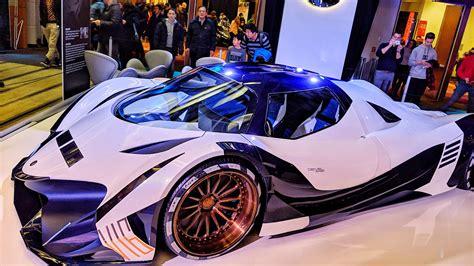 5,000 HP Devel Sixteen at the Toronto auto show : Autos