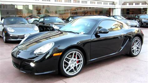2007 Porsche Cayman S Black Wallpaper 1920x1080 39356