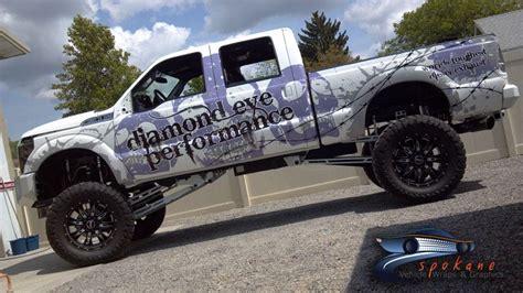spokane monster truck spokane vehicle wraps and graphics ford monster truck