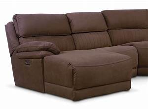 Monterey 5 piece power reclining sectional with left for 5 piece reclining sectional sofa
