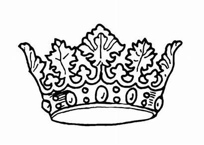 Crown Coloring King Kings