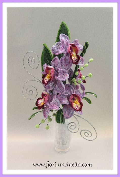 composizioni fiori uncinetto fiori all uncinetto crochet flowers flower bouquet