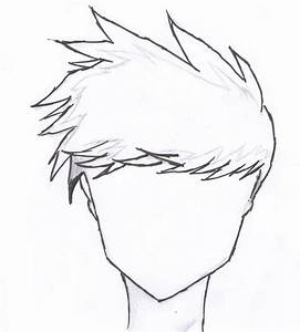 Male Hair Outline by patty998 on DeviantArt