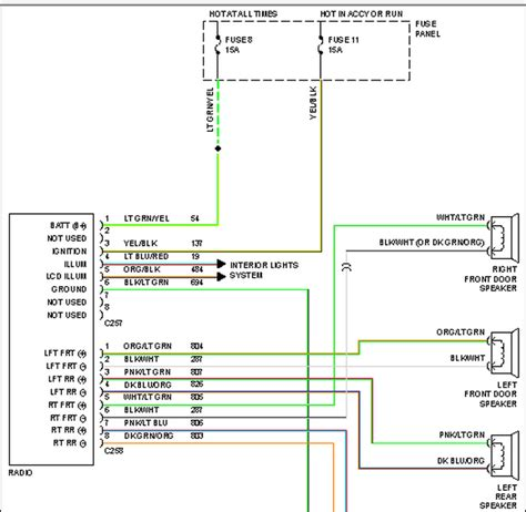 Radio Wire Diagram For 1992 F150 by 1992 Ford F150 Radio Wiring Diagram Hp Photosmart Printer
