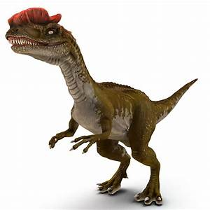 dilophosaurus rigged 3d max  Dilophosaurus