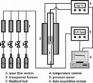 Schematic Diagram Of Fluidized Bed Apparatus