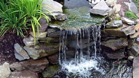 cascade pour bassin exterieur comment faire une cascade pour bassin