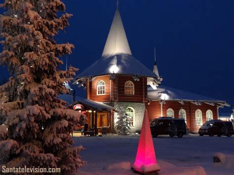 image christmas house  santa claus village  rovaniemi