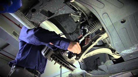 replacing  front air suspension     jaguar