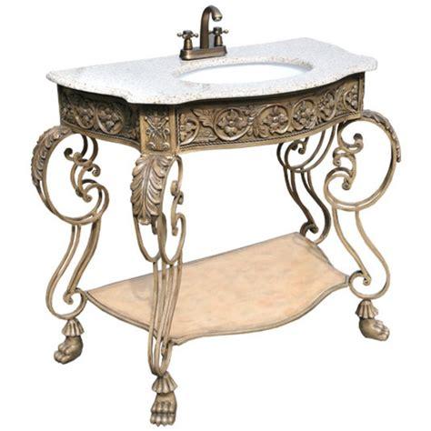 Antique Bathroom Vanity Units by Iron Antique Style Vanity Unit Bathroom Furniture