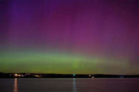 northern lights nova scotia the northern lights from crescent beach mostly the coast