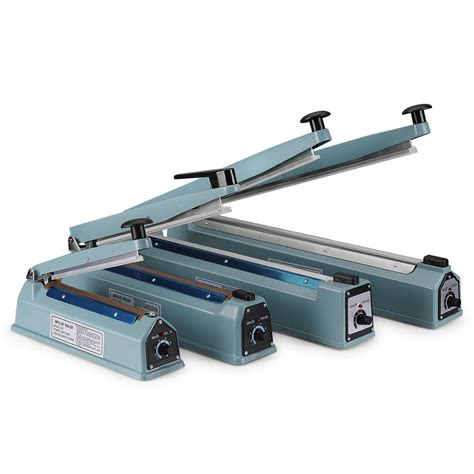 mm manual impulse heat sealer  poly bag machine shrink wrap seal  ebay