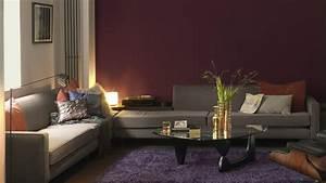 peinture pour salon salon chaleureux dulux valentine With couleur chaleureuse pour salon