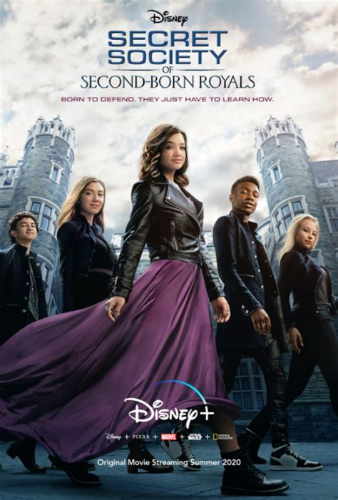 royals born second society secret descendants disney zombies poster september superpower 25th exclusively packed sized streaming could fun