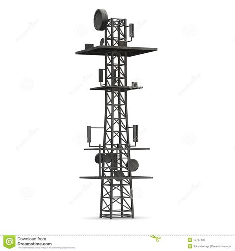 gsm tower royalty free stock 10767439