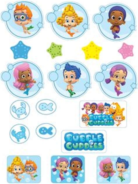 Guppies Cake Topper Templates by Guppies On Guppies Cupcakes