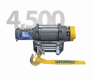 Superwinch Terra 45 4 500 Lbs Atv Winch