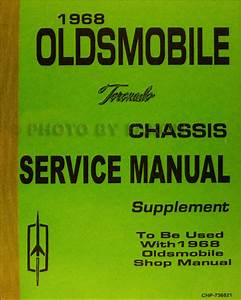 1968 Oldsmobile Cd Repair Shop Manual  Body Manual  U0026 Parts