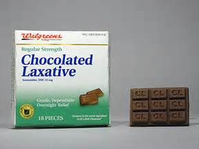 chocolate laxative oral drug information   side
