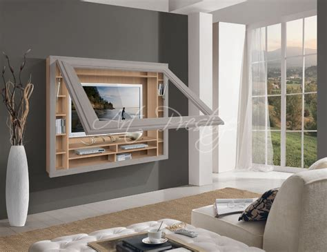 cornice porta 571 porta tv con cornice da parete prestige