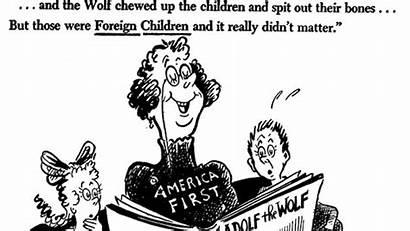 Seuss Cartoons Dr Political Library Trump America