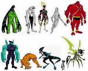 Original Ben 10 Aliens (Alien Force Style) by 1999olympian ...