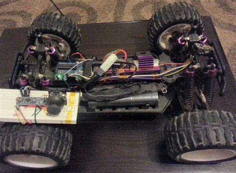 rf control system  rc vehicle based  arduino