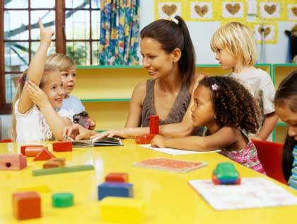 best and most affordable preschools in the cities 521 | preschool teacher with students