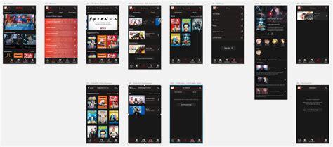 netflix mobile redesigning netflix mobile do medium