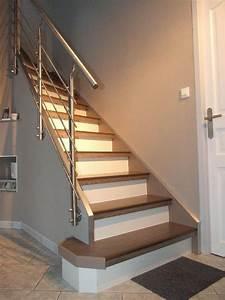 Renovation D Escalier En Bois : escalier bois renovation if64 jornalagora ~ Premium-room.com Idées de Décoration