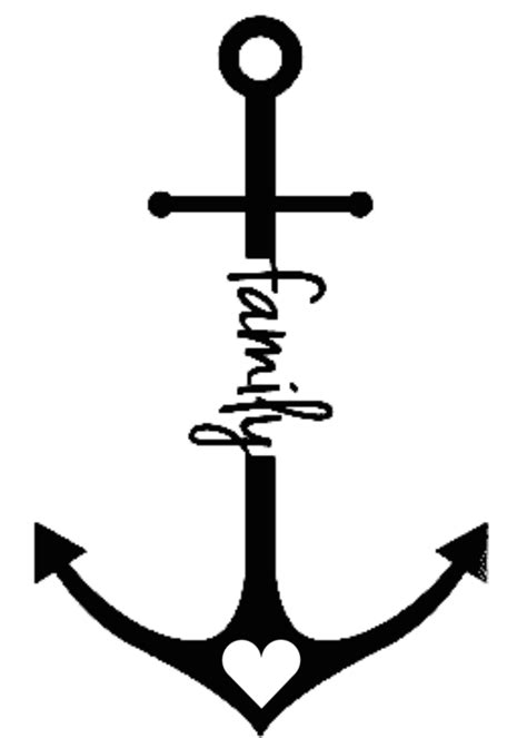 thinking about this one on my ankle | Family tattoos, Anchor tattoos, Anker tattoo