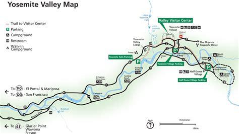 yosemite valley floor map thefloors co