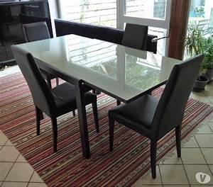 table salle a manger extensible fly great table salle a With meuble salle À manger avec table salle a manger extensible fly