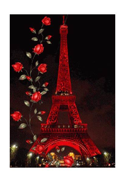 Tower Eiffel Paris Towers Roses Favorite Places