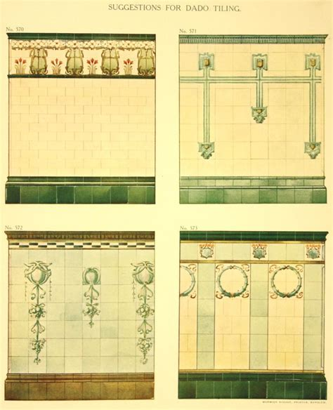 restaurant kitchen tile 265 best early 1900s tile images on tiles 1909