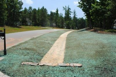 what is hydroseeding process hydroseeding services southern touch landscaping
