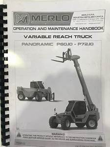 Merlo Telehandler Manual