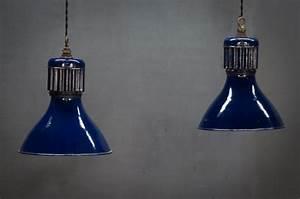 Royal vintage cobalt blue pendant lights factory