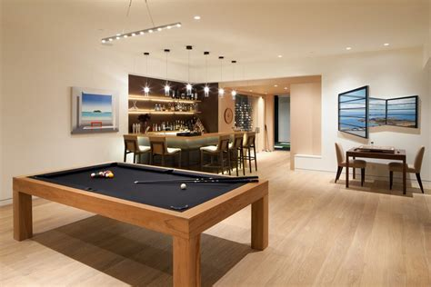 pool table room decor los angeles cool pool tables family room contemporary with